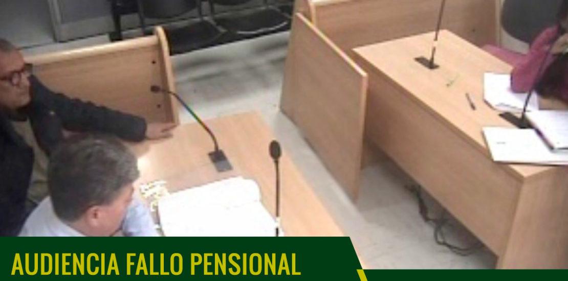 audiencia nulidad pensiones colombia
